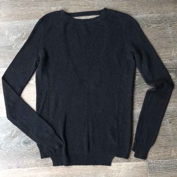 A.L.C. Long Sleeve Top in Black